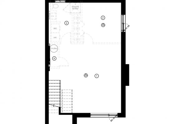 Modèle 2 - Sous-sol